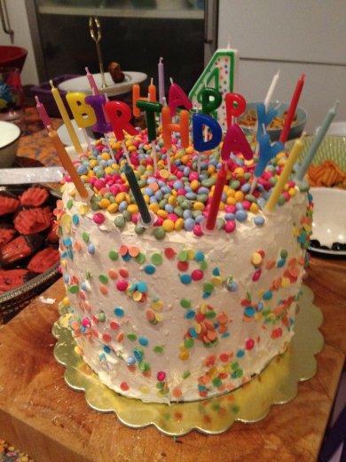 Rainnbow cake